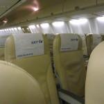 スカイマークの座席指定の方法、料金や変更など